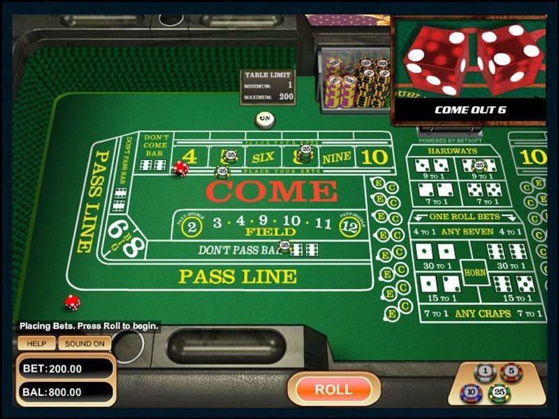Online Casino Craps